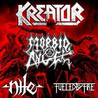 KREATOR, MORBID ANGEL, NILE & FUELED BY FIRE - Билети ©