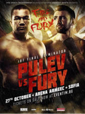 FIRE AND FURY: PULEV vs. FURY