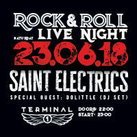 Rock'N'Roll Live Night : Saint Electrics - Билети ©