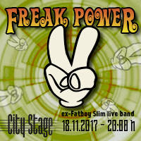 Freak Power в City Stage - Билети ©