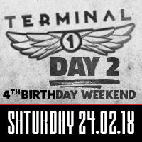 Terminal 1 Birthday Party - Day 2 - Билети ©