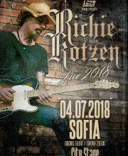 RICHIE KOTZEN LIVE IN SOFIA - Tickets