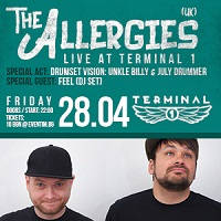Терминал 1 представя: The Allergies /UK - Билети ©