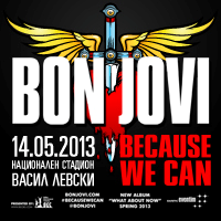 BON JOVI BECAUSE WE CAN – THE TOUR - Билети ©