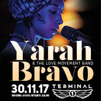 YARAH BRAVO & The Love Movement Band - Билети ©