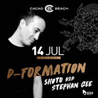D-Formation @ Cacao Beach - Билети ©