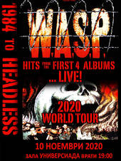W.A.S.P.: 1984 To HEADLESS