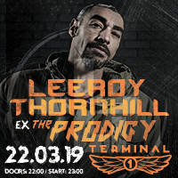 LEEROY THORNHILL (UK) DJ Set - Билети ©