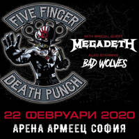Five Finger Death Punch - Tickets ©