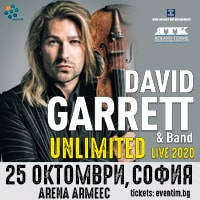 David Garrett - Tickets ©