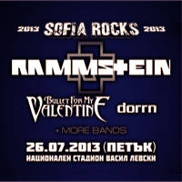 Sofia Rocks 2013 - Tickets ©