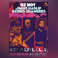 JIMMY HASLIP, DENNIS CHAMBERS & OZ NOY - Tickets ©